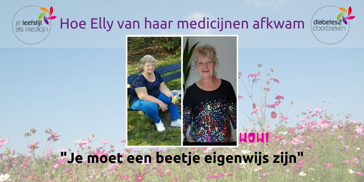 Hoe Elly van haar medicijnen afkwam