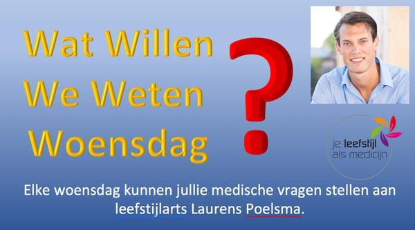 Stel je vraag aan leefstijlarts Laurens Poelsma